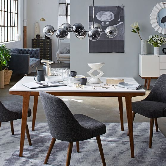 west elm Modern Dining Table in 2019   Products   West elm ...