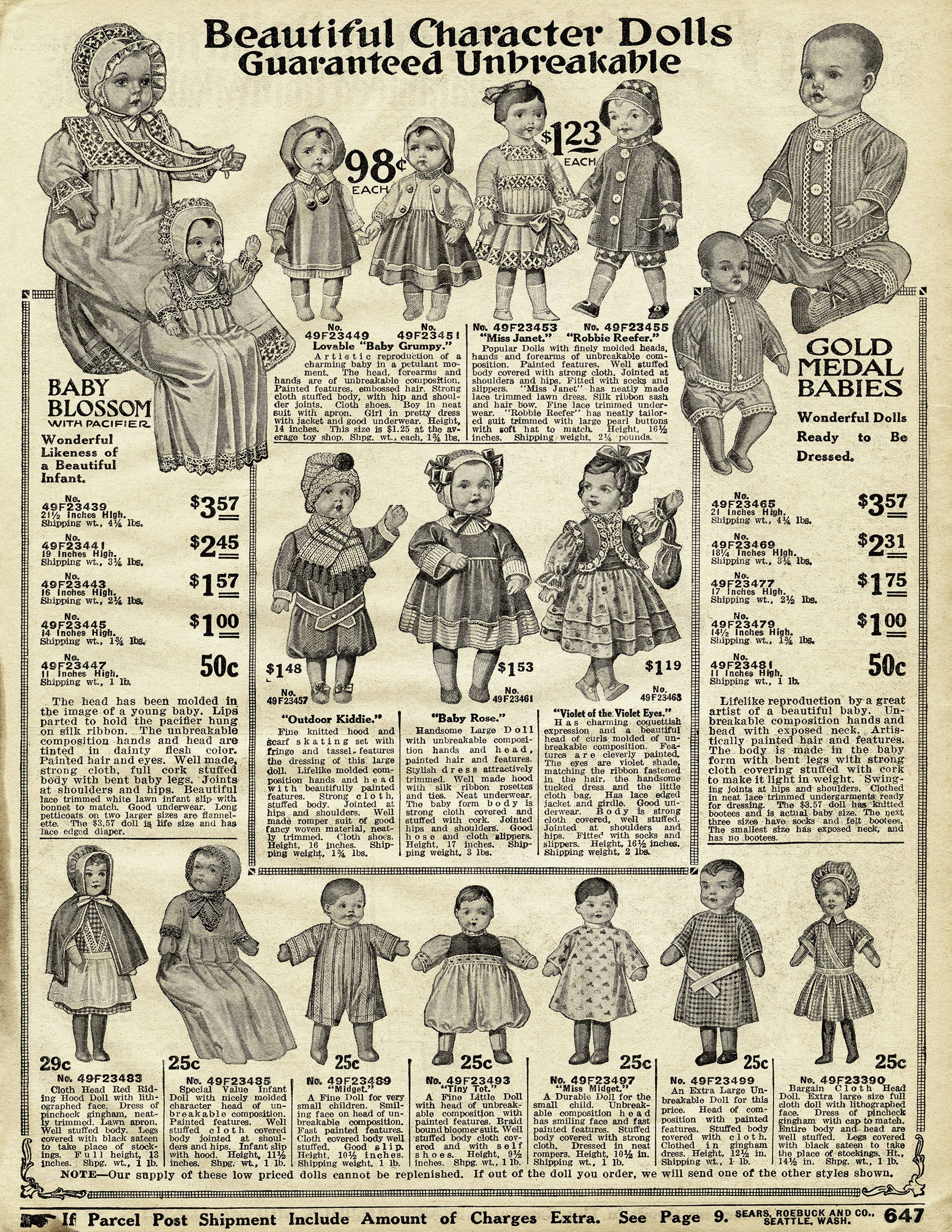 2f1cf4e692 These pages are from the 1916 Sears Roebuck and Co. winter catalogue ...