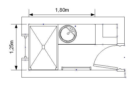 Plan petite salle de bain salle de bain for Plan pour amenager une petite salle de bain
