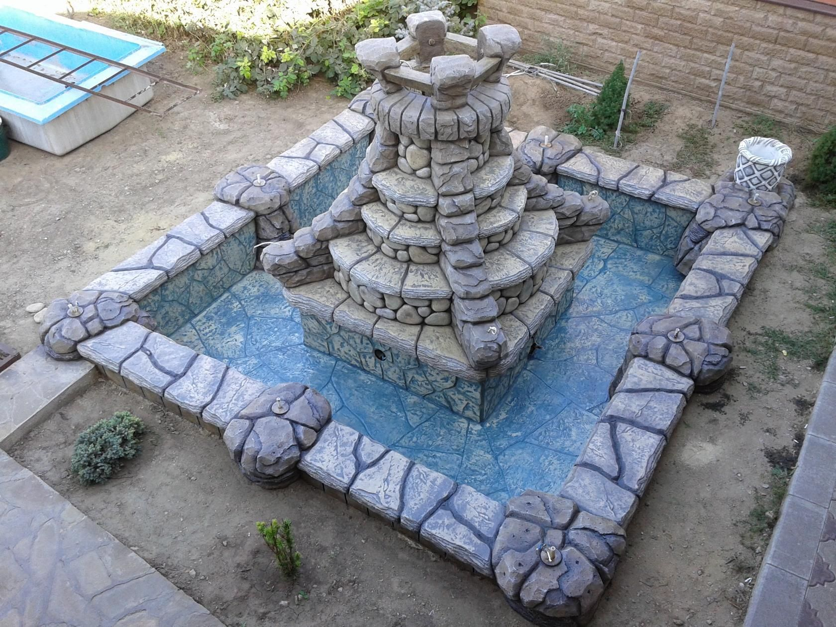 Бетон водопады бетон 93