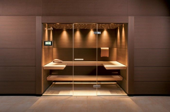 klafs press release weightless sauna design klafs. Black Bedroom Furniture Sets. Home Design Ideas