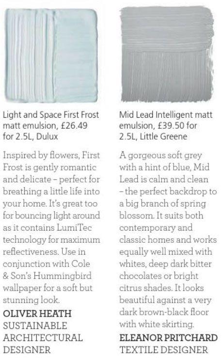 Paint Palette Muted Light Blue Duck Egg Blue Paint Dulux Popular Grey Paint Colors Best Gray Paint Color