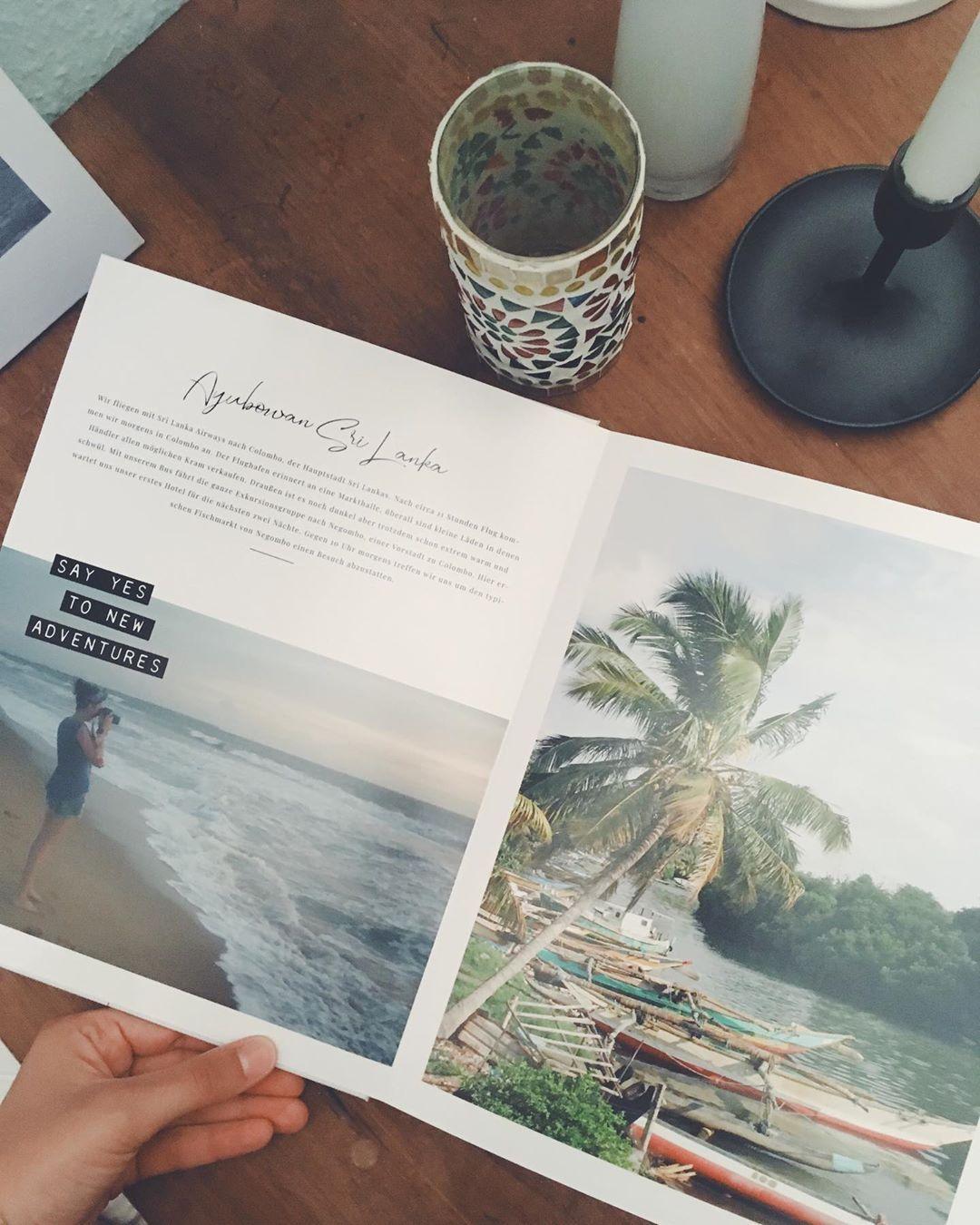 """Anne � � on Instagram: """"-Werbung- Mein zweites Fotobuch von @saal_digital ist endlich da��� mit der Vorlage von der lieben @youdidx3 habe ich mir ein Sri Lanka…"""""""
