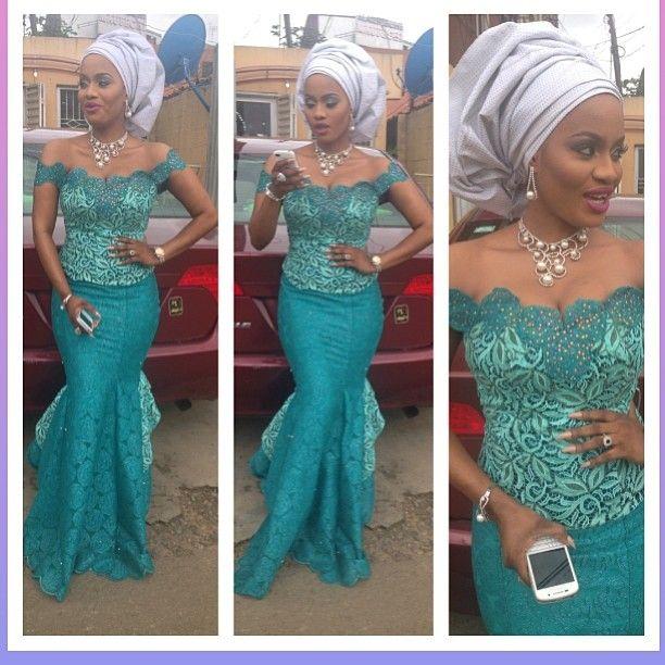 The Diary Of A Nigerian Fashionista Asoebi Look Book