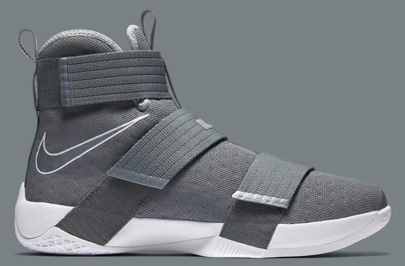 wholesale dealer 97d68 72341 Nike LeBron Soldier 10 Cool Grey (2)