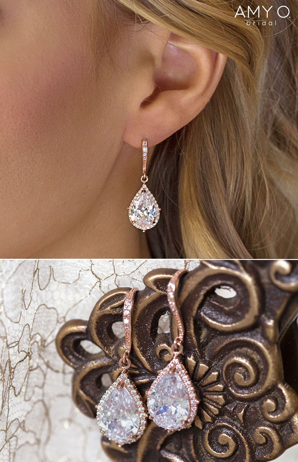 Large rose earrings flower drop dangle earrings fancy dress costume accessory