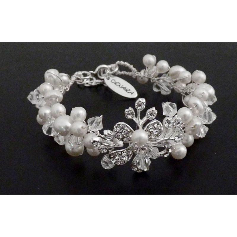Brautschmuck armband  Ornara ® Design Brautschmuck Armband Zuchtperlen | Gabi Benning 1 ...
