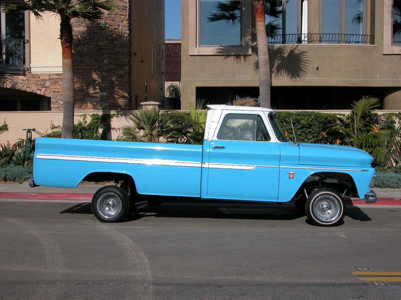 64 chevy 1964 chevy c 10 stepside shortbed custom truck show quality c 10 photo