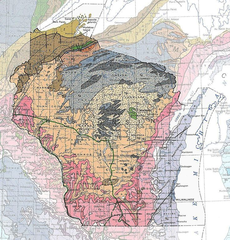 Geologic Maps of the 50 United States Fifty Nifty