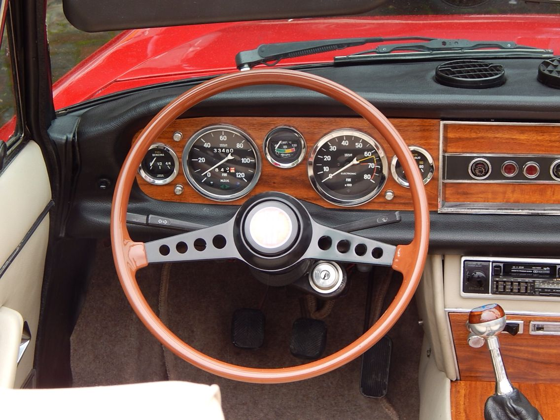 Fiat 124 Sport Spider Pinterest 1971 Car Pics