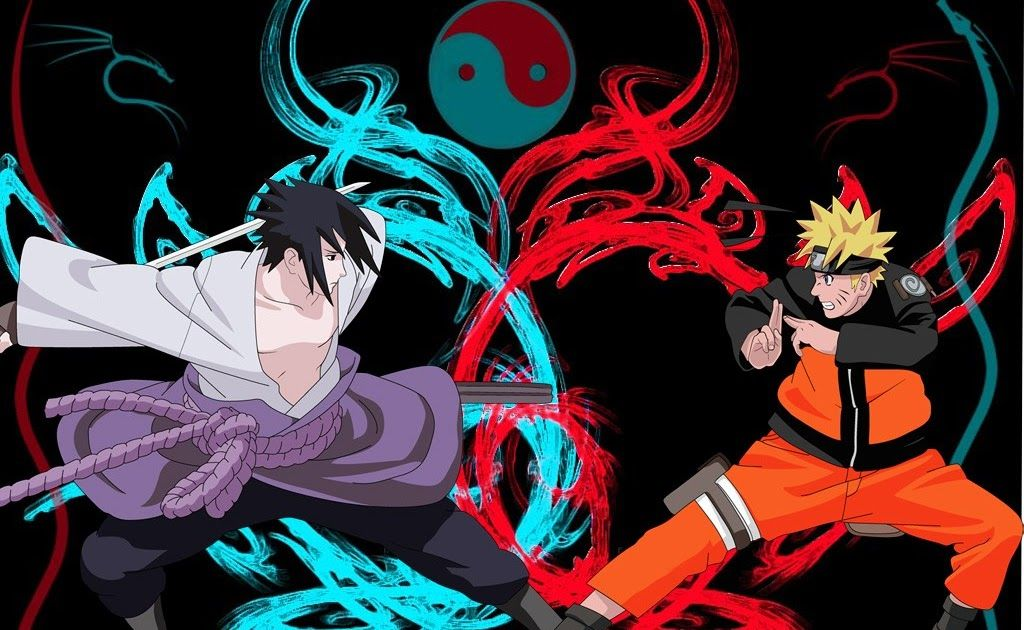 Wallpaper Naruto Bergerak Download Naruto And Sasuke Naruto Batman Vs Superman