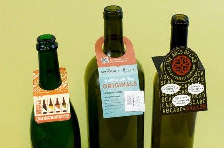 Creative Bottle Neck Tags Wine Neck Tags Bottle Wine Packaging