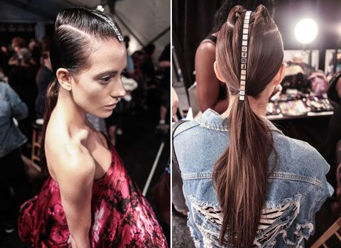 CZAR Cesar Galindo Spring 2014 Sleek Hair How To from Fashion Week | Latina