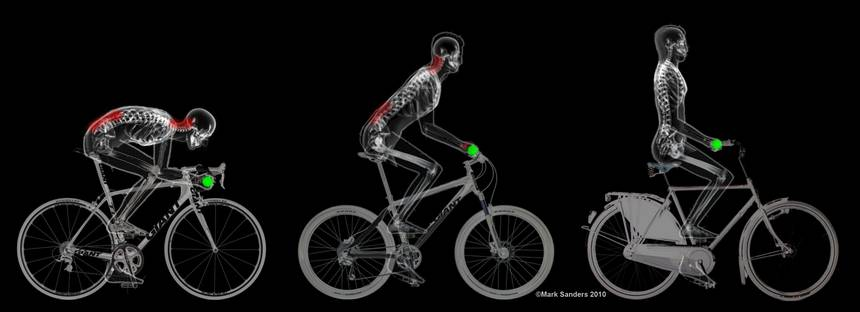 Why Upright Is Right When You Are Riding A Bike Cycling Art