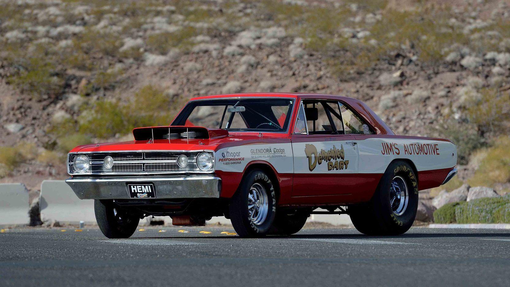 Lot S130 1968 Dodge Hemi Dart Lo23 Super Stock Dodge Hemi Dart