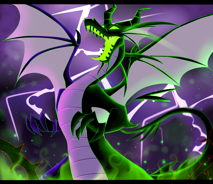Maleficent Dragon Dragones