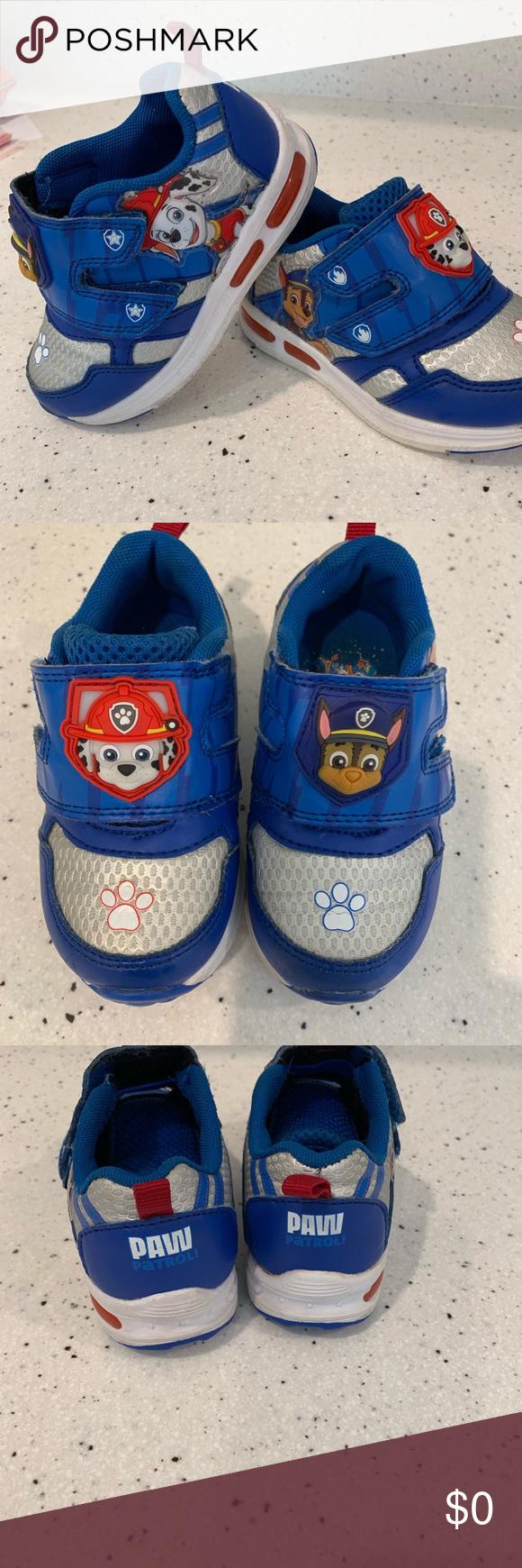 Velcro shoes, Paw patrol shoes, Strap shoes