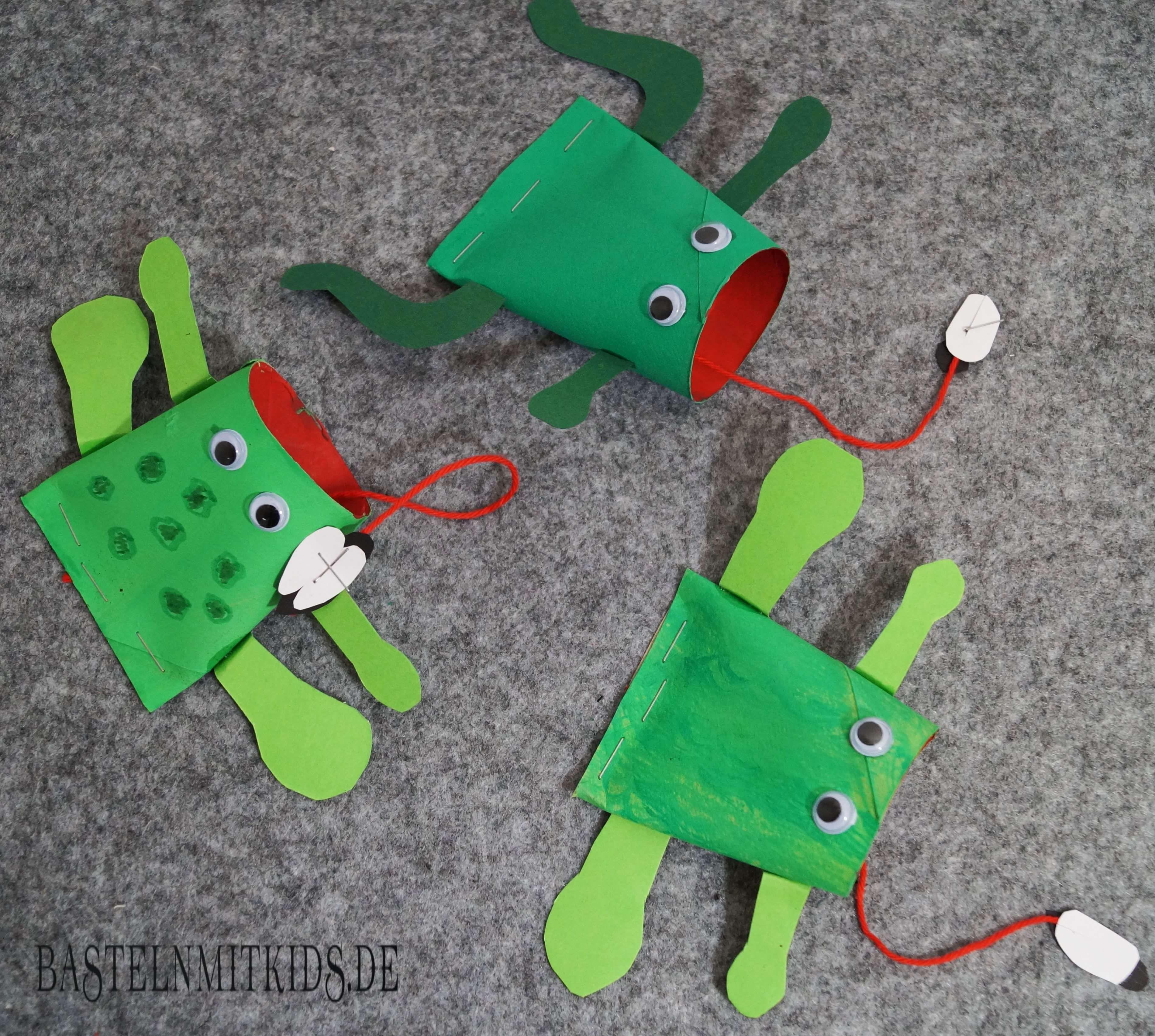 frosch basteln einfach und schnell basteln mit kindern kids craft frosch basteln. Black Bedroom Furniture Sets. Home Design Ideas