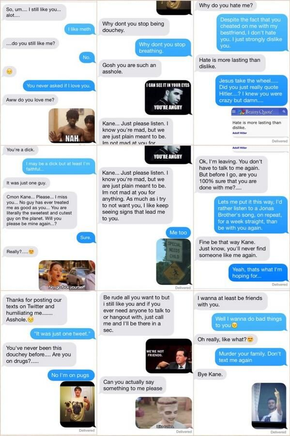 Guy Posts Entire Conversation Between Himself And His Ex On Twitter Priceless