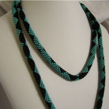 Free Bead Crochet Rope Patterns Google Search Beading And