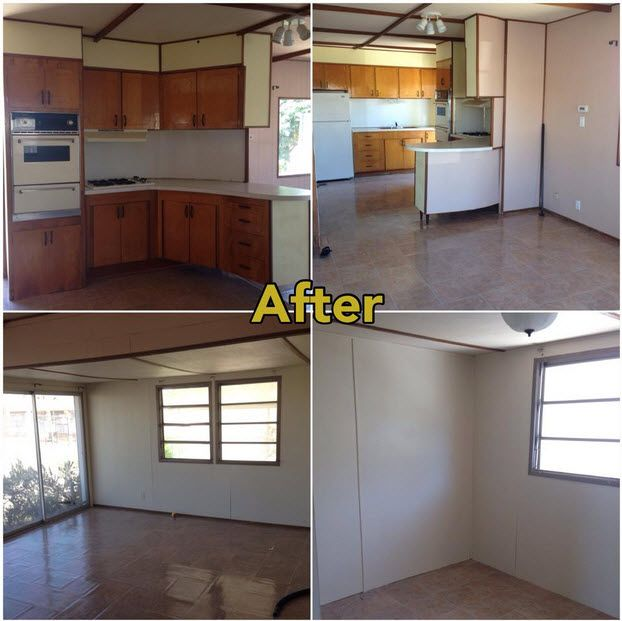 Manufactured Home Remodeling Ideas Remodelling Mobile Home Repair Before And After  Living In A Mobile Home .
