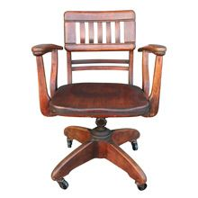 Enjoyable Unique Office Chair By The Murphy Chair Co C1928 Restored Uwap Interior Chair Design Uwaporg