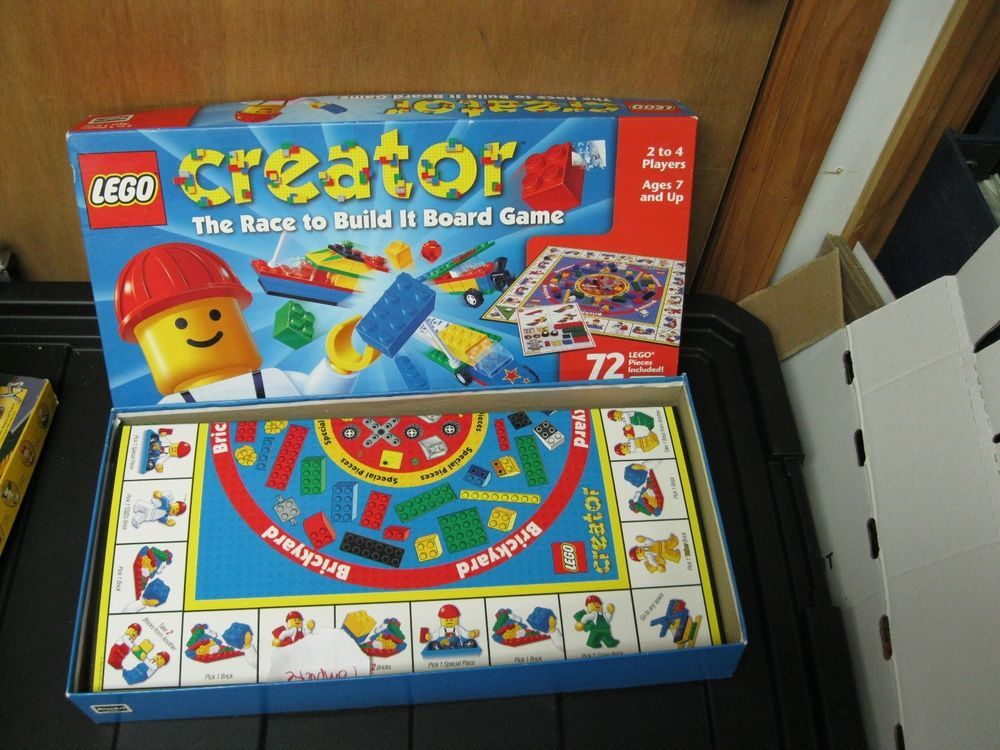 Lego Creator The Race Board Game Complete Egaming Forums Lego