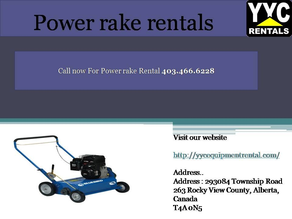 blue bird power rake free delivery or free dump trailer power