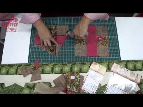 ▶ Trilho de mesa - Drica usando a Regua Entrelaçada - Duna Atelier - YouTube