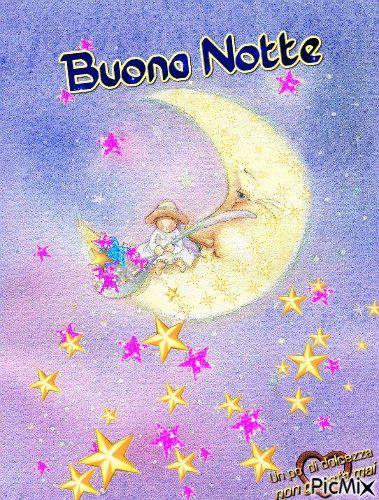 Buonanotte Gif 110 Pezzi Di Immagini Animate Notte Pinterest