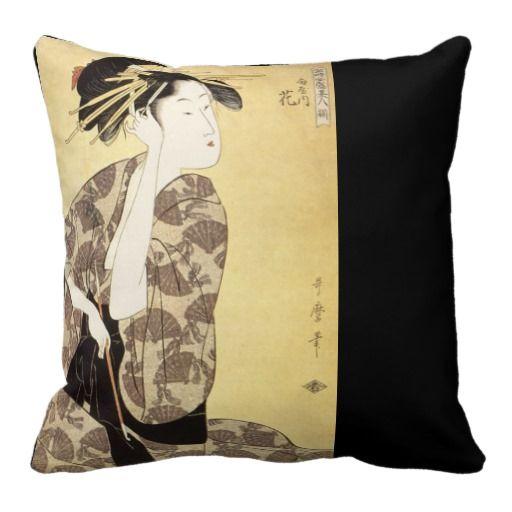 Beautiful Anese Design Throw Pillow