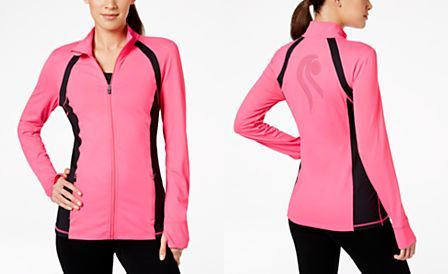 Ideology Fitted Active Zip Jacket