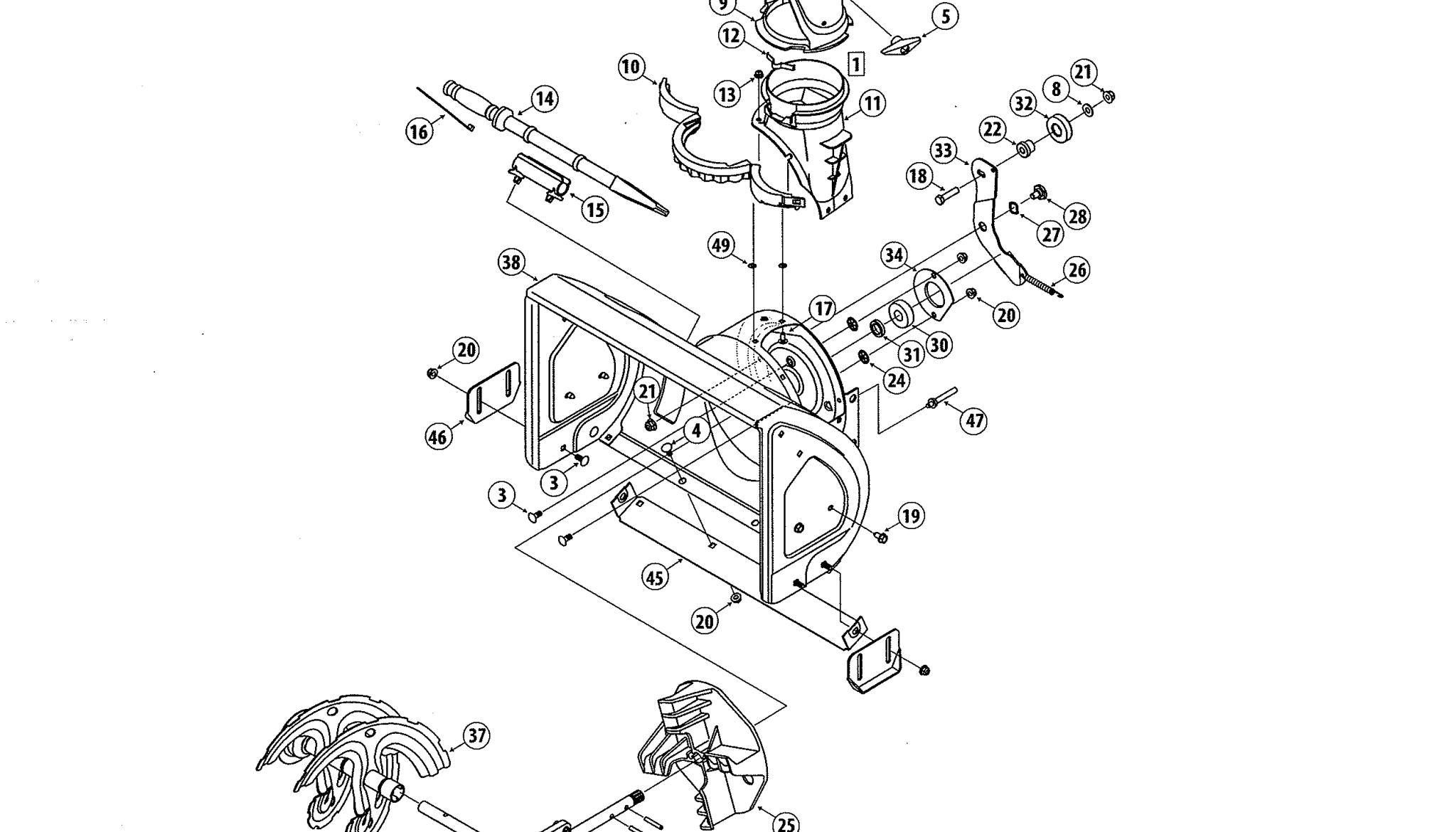 Model 247881980 Home Decor Decals Craftsman Snow Blower