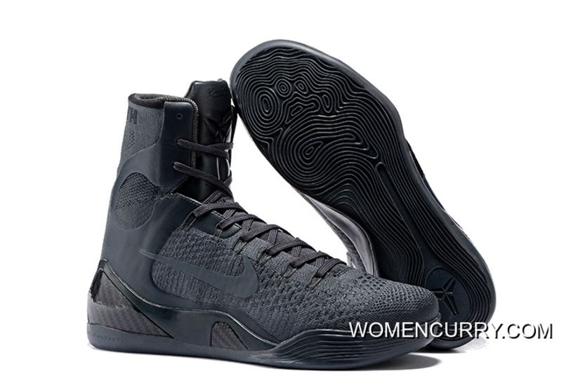 www.womencurry.co... NIKE KOBE 9 ELITE FTB ANTHRACITE ANTHRACITE BASKETBALL  SHOES RELEASE NEW STYLE Only  102.60  0e85bf4cd536