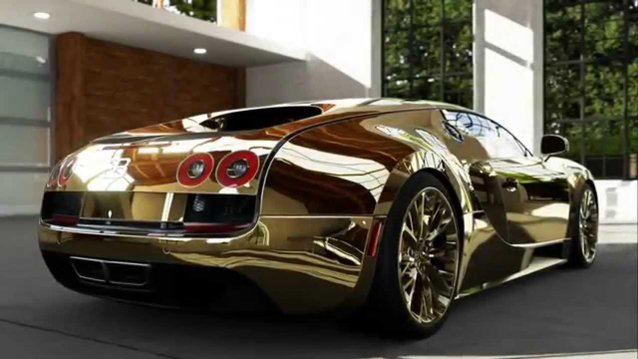 Gold Plated Bugatti   Bing Images
