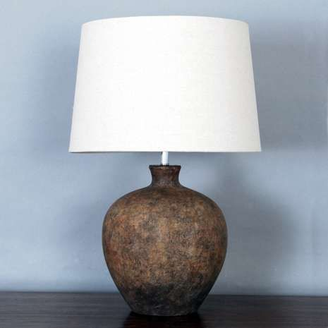Santiago Washed Urn Table Lamp Table Lamp Bedside Table