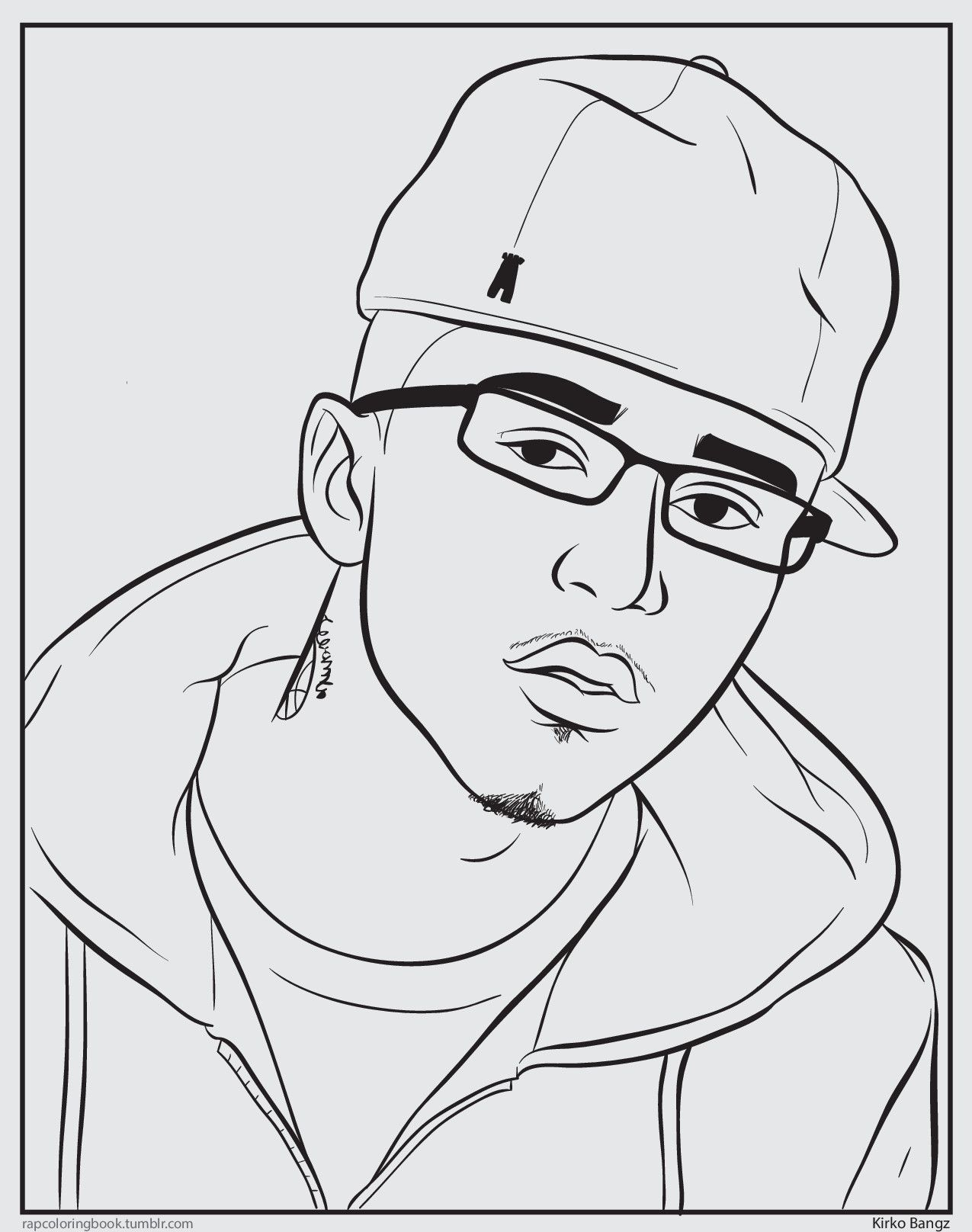 eminem coloring pages - photo#32