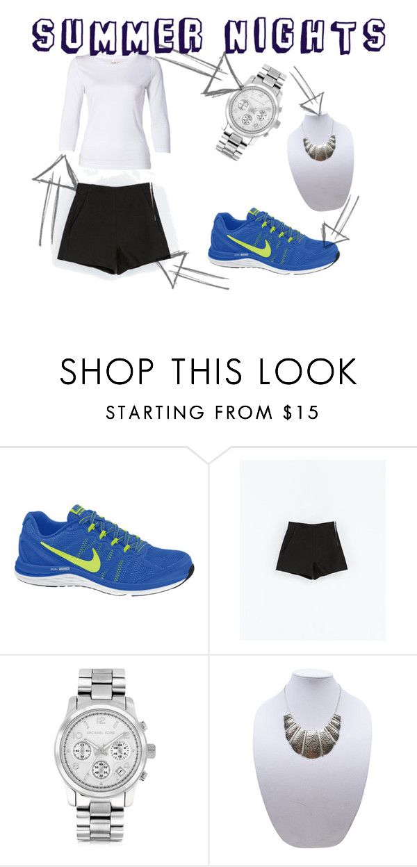 """""""Budapest Nights"""" by zsofi-belovai ❤ liked on Polyvore featuring NIKE, Zara, J Brand, Michael Kors, Wet Seal, nike and budapest"""