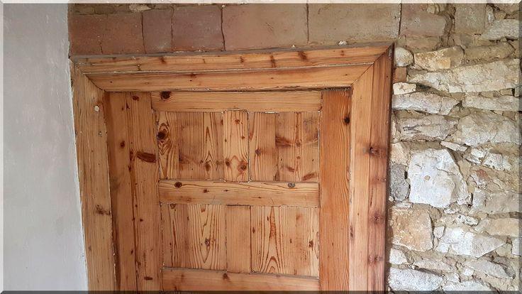Renovated old wooden door Renovated old wooden door Renovated …
