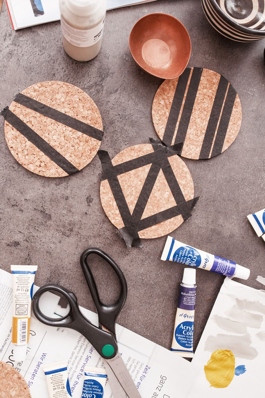 Photo of DIY: Corkboards and coasters – bekleidet – fashionblog / travelblog / interiorblog Germany