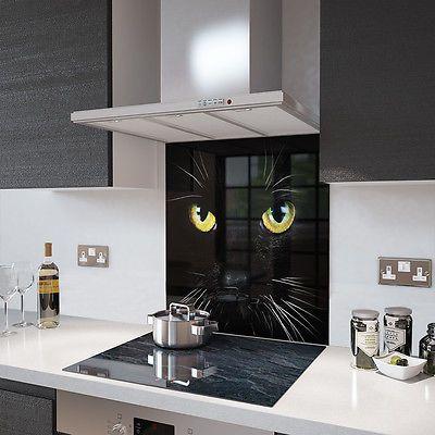 Kitchen Glass Splashback Heat Resistant Toughened Glass  Any Size