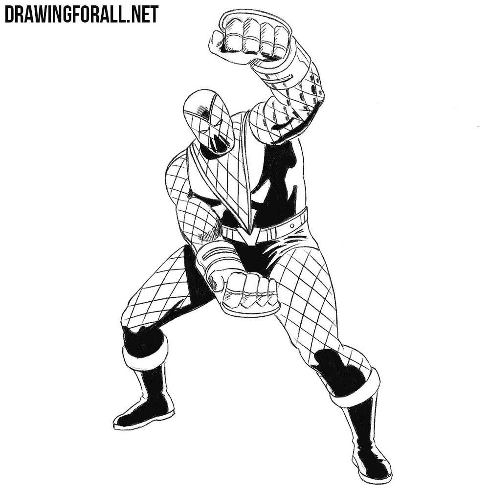 How To Draw Shocker From Marvel Drawingforall Net Drawings Marvel Comic Drawing