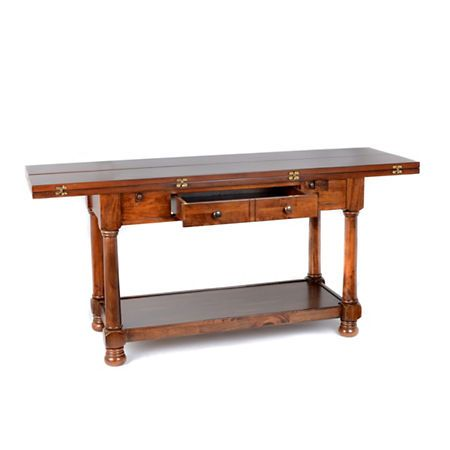 TriFold Console Table Tri fold Console tables and Consoles