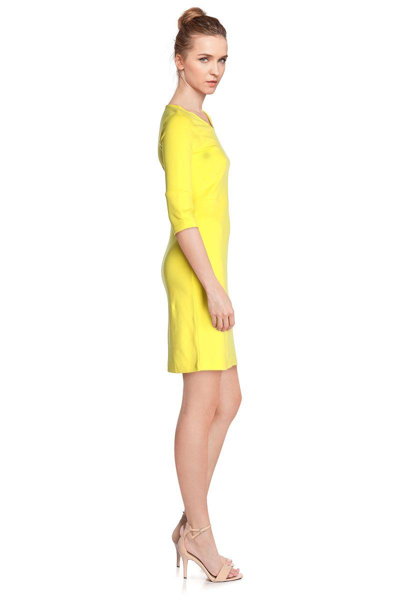 Vente robe jaune