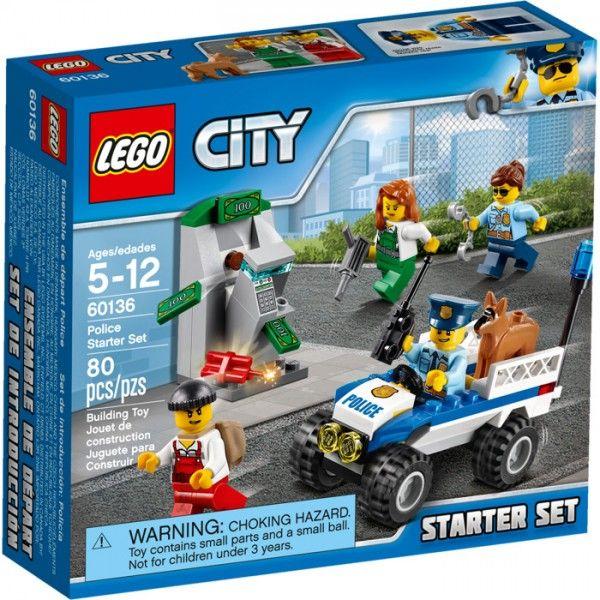 Lego Set De Inicio Policia Lego Sets De Construcción Sets De Construcción Juliocepeda Com Lego City Sets Lego City Lego City Police