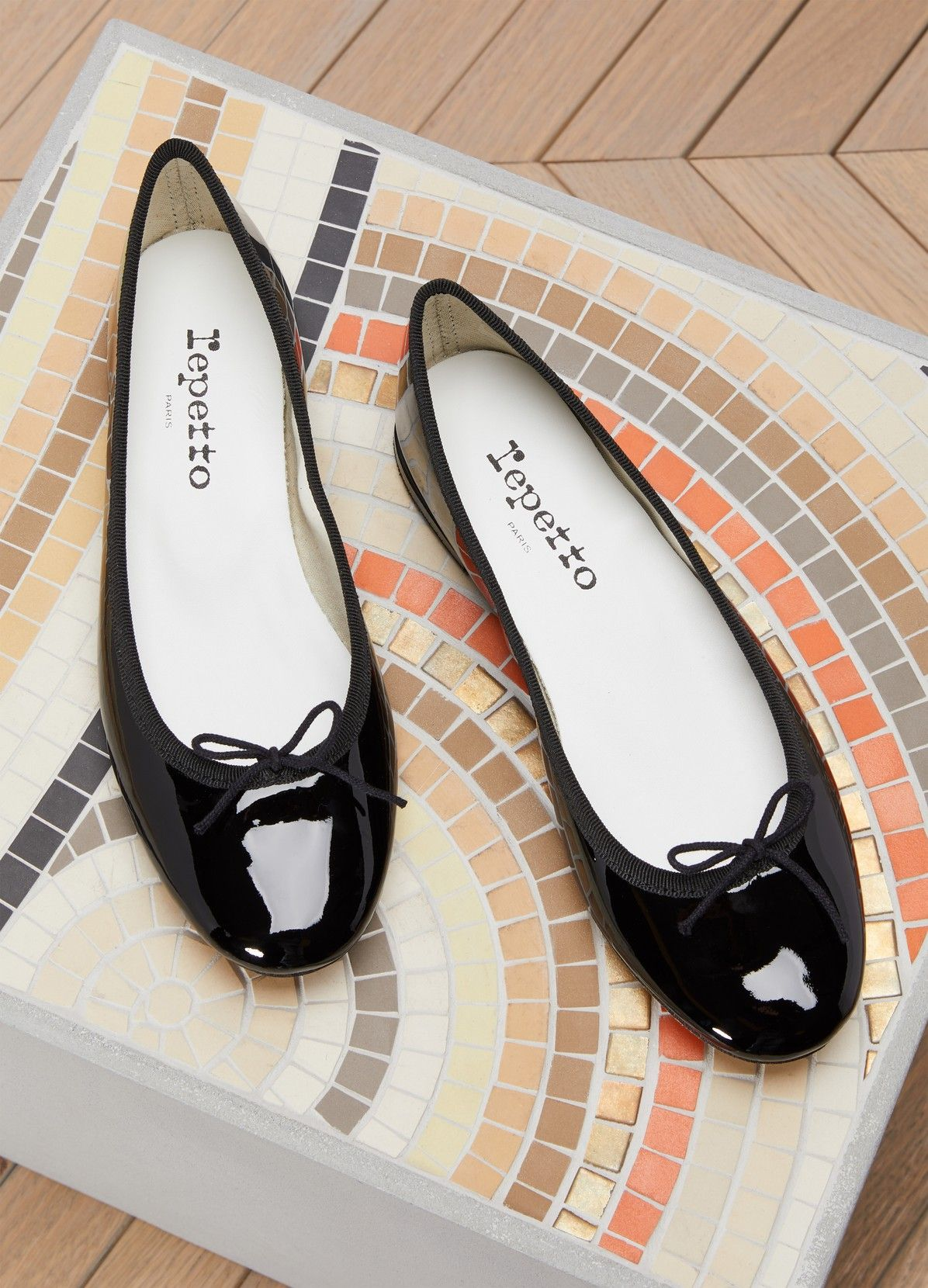REPETTO Cendrillon Patent Leather