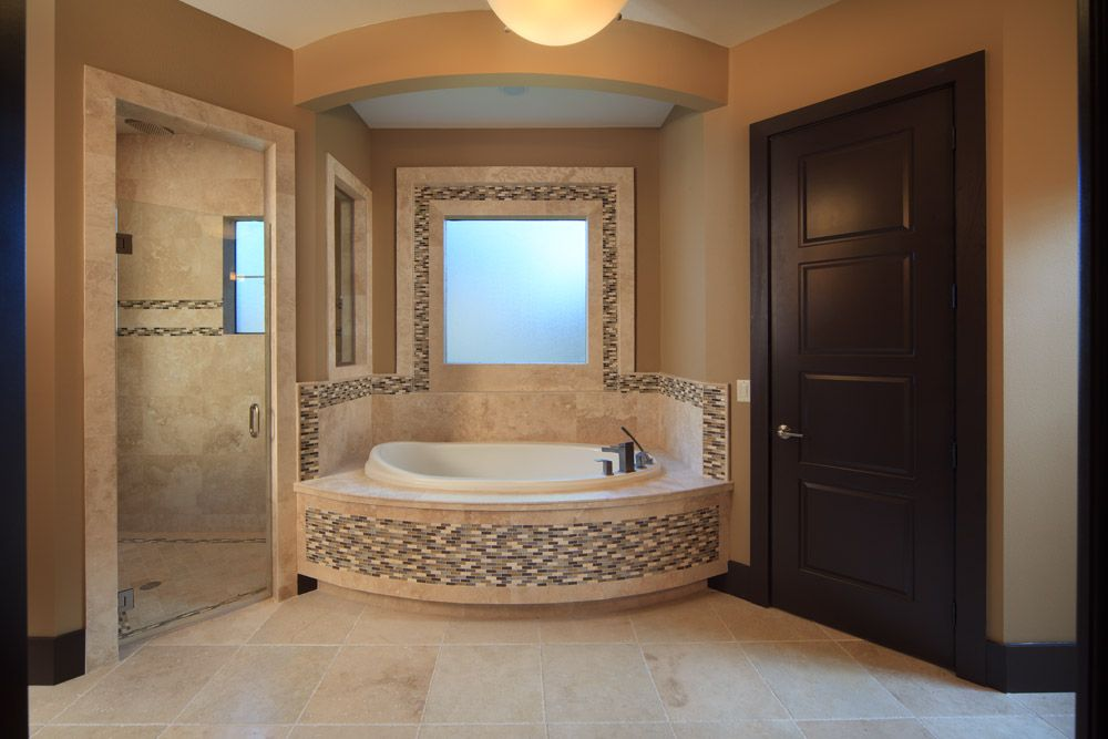 Modern Mediterranean Master Bathroom For More Design Ideas Subscribe To My Blog