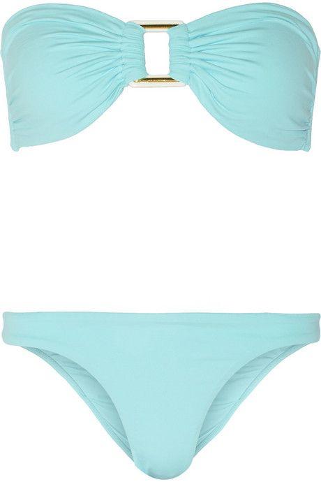 4756e4cfc2af Melissa Odabash Angola bandeau bikini | Here comes summer