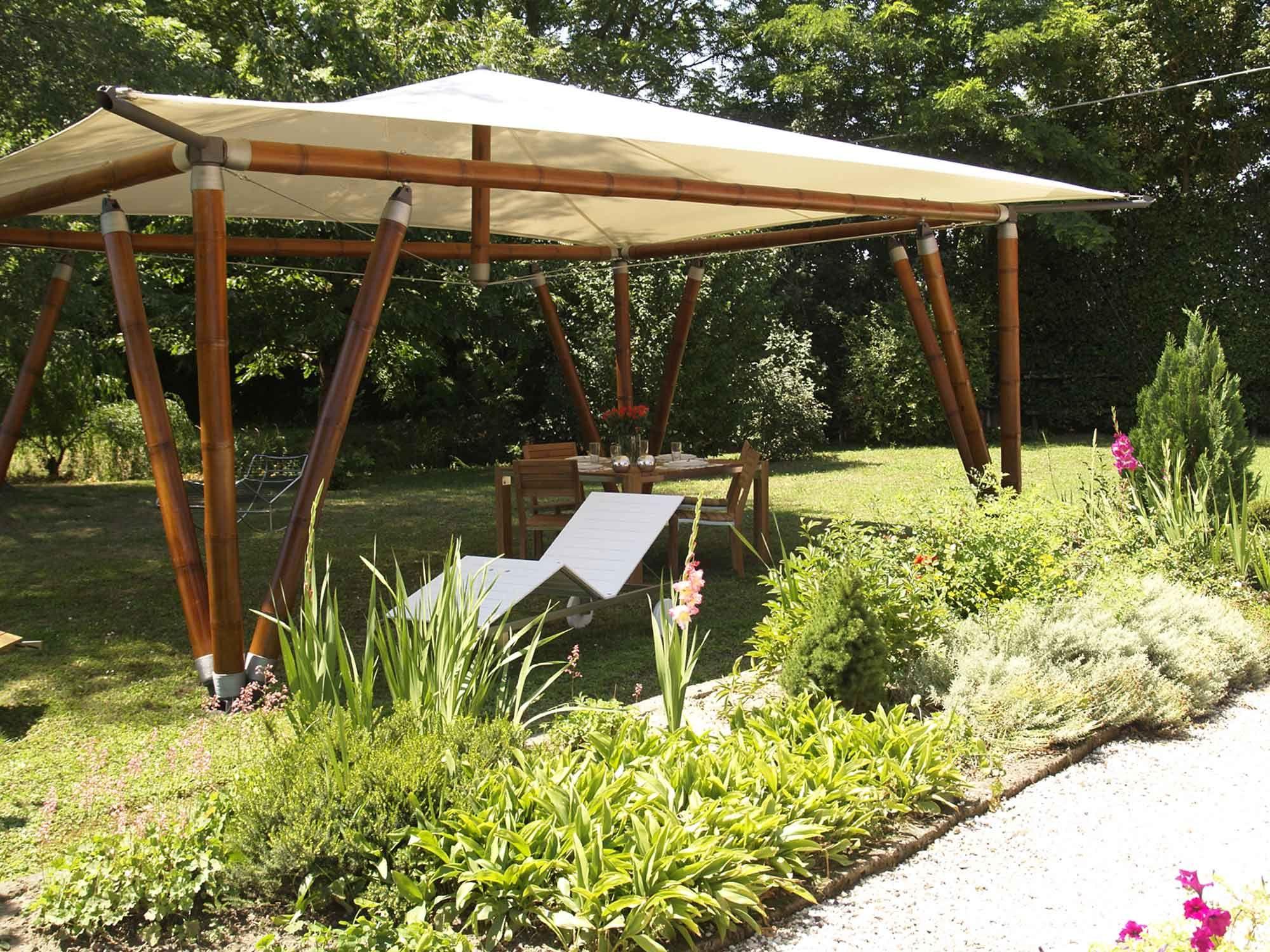 Gazebo em bambu bulan by systema bamboo arquitetura e decora o pinterest ems and pergolas - Pergolas de bambu ...