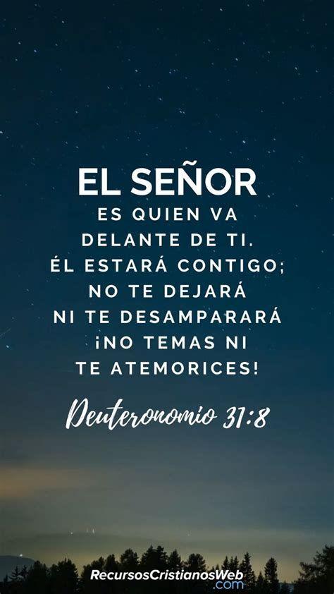 Versículos De Animo Y Aliento - Deuteronomio 31:8 [Video